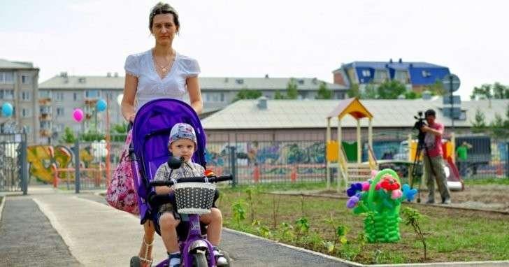 В Абакане состоялось открытие детского сада «Настенька» политика, проивзодство, россия, строительство