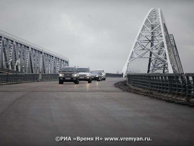 Движение по второму Борскому мосту в Нижегородской области запущено в полном объеме политика, проивзодство, россия, строительство