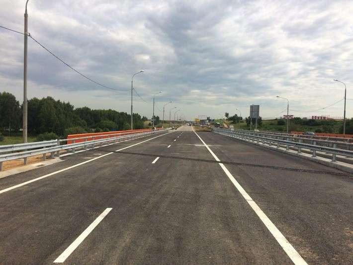 В подмосковных Химках досрочно завершили реконстукцию 2-х мостов через реку Клязьму политика, проивзодство, россия, строительство