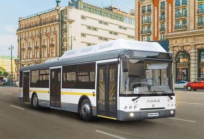 100 новых низкопольных автобусов ЛиАЗ поставлено в Нижний Новгород политика, проивзодство, россия, строительство