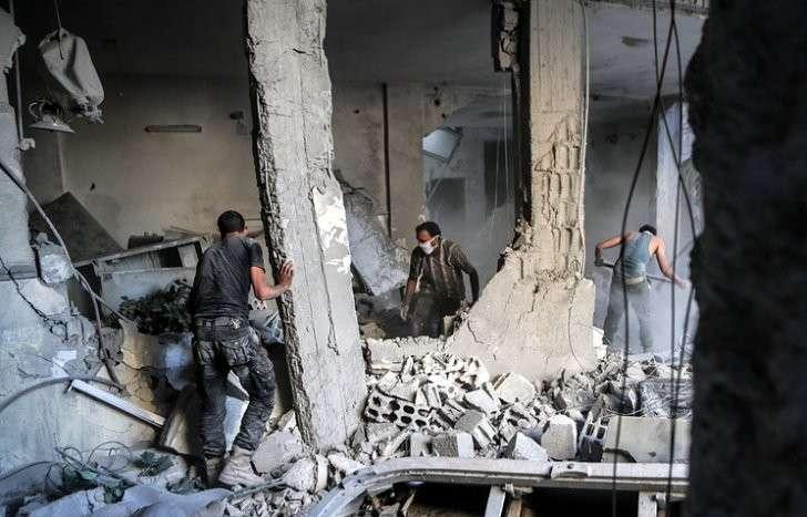 Коалиция бандитов в Сирии уничтожила не менее 60 мирных жителей