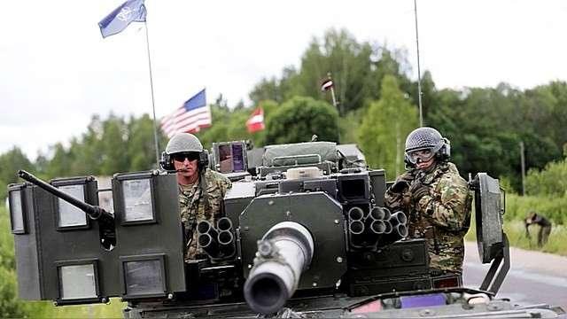 Мы идем в Прибалтику для того, чтобы с границы атаковать Россию!
