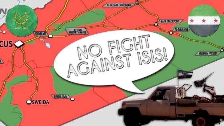 Сирия: боевики США сдаются сирийской армии, южный фронт трещит по швам