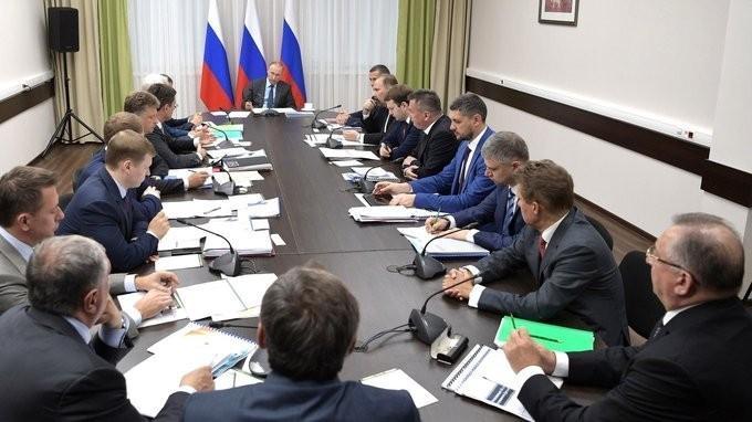 Путин провёл совещание по вопросам крупных инвестиционных проектов на Дальнем Востоке