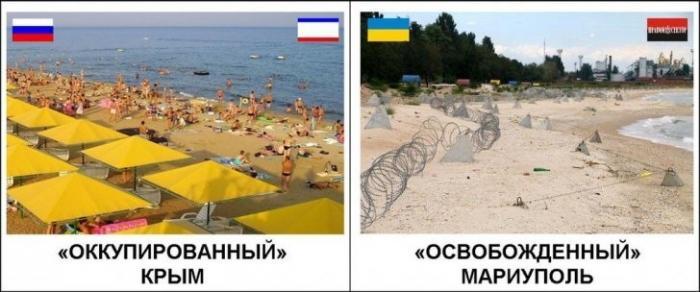 Украинец побывавший в Крыму, возмутился слишком сильному порядку