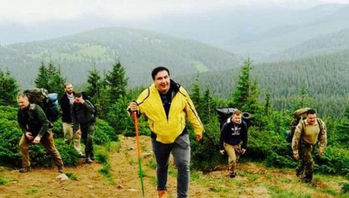Украина: СБУ ловит проходимца Саакашвили на украинско-польской границе