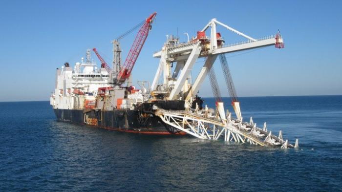 «Газпром» форсирует строительство: «Турецкий поток» растет соскоростью 3,5 кмвдень