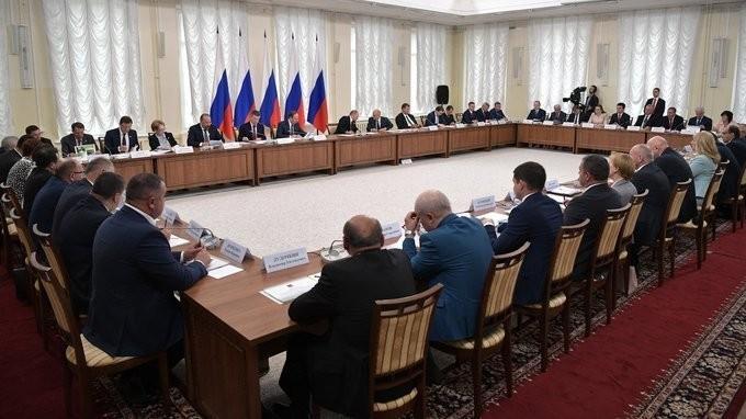 Владимир Путин провёл заседание Совета поразвитию местного самоуправления