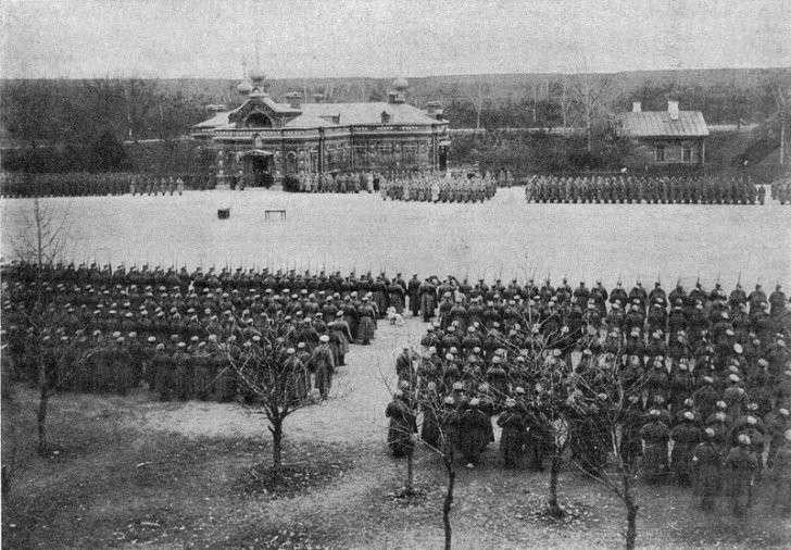 Крепость Осовец, 1915 г