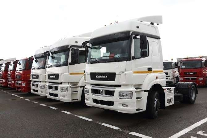 Рынок грузовых автомобилей впервом полугодии вырос на45%