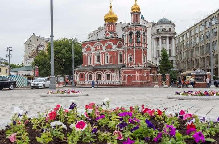 Ход благоустройства городской среды вМоскве