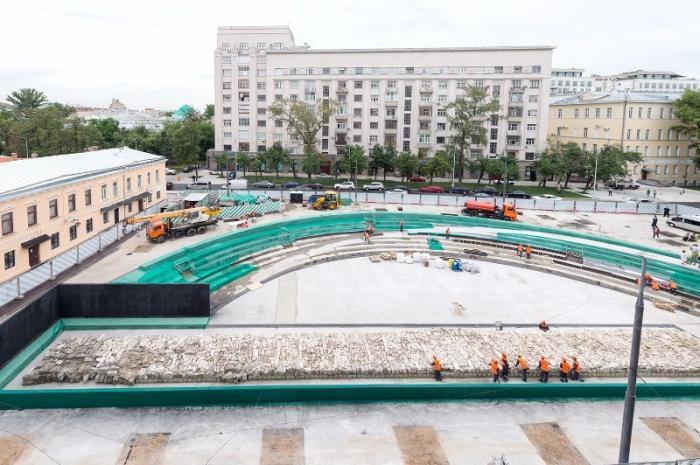 В Москве идёт благоустройство городской среды
