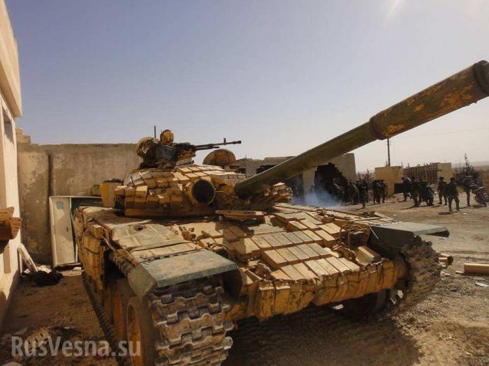 Сирия: ВКС РФ и Армия Сирии расчистили дорогу на осаждённый Дейр эз Зор