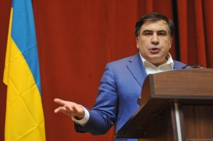 Бомж Саакашвили пригрозил Вальцману вернуться на Украину на легальных основаниях