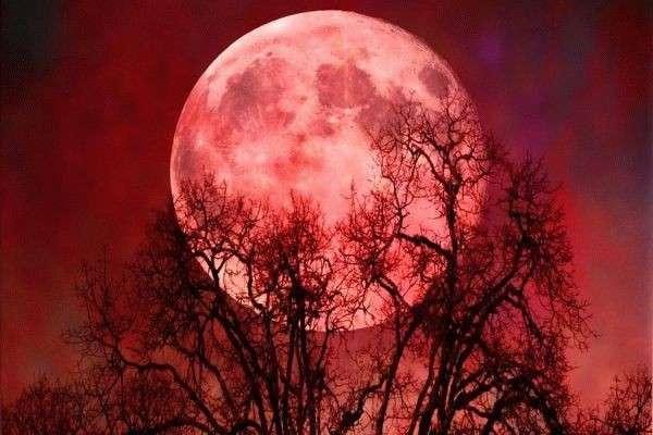 Лунное затмение 7 августа,