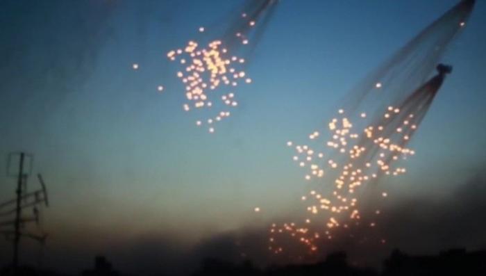 Сирия направила письмо в ООН после того, как США разбомбили фосфором госпиталь в Ракке