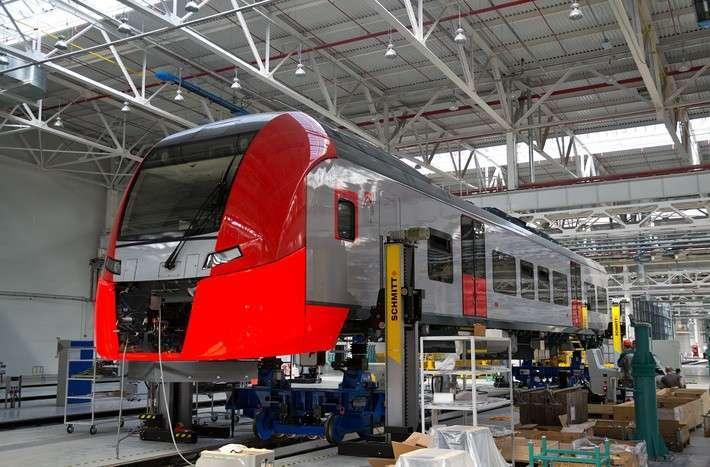 Уровень локализации производства поездов Ласточка составляет уже 60%