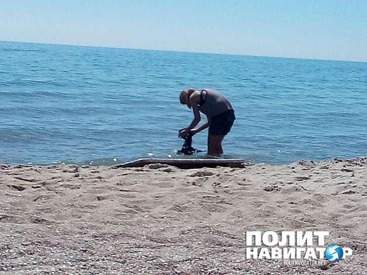 Шокирующий рассказ одесситки: рагули моются в чёрном море с мылом!