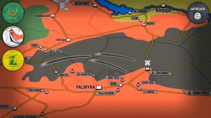 Сирия: ИГИЛ перебрасывает силы для контратаки на правительственную армию