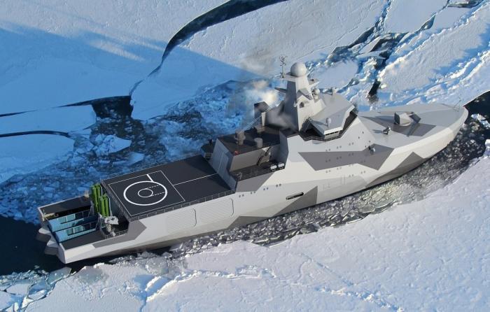 Боевые корабли, катера и вспомогательные суда, строящиеся для ВМФ России