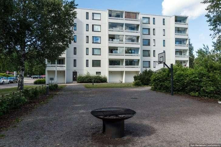 Пример от финнов, как обустраивать дворы в «панельных гетто»