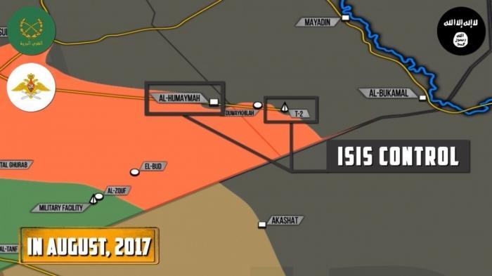 Сирия: ожесточённые бои с ИГИЛ в районе границы с Ираком