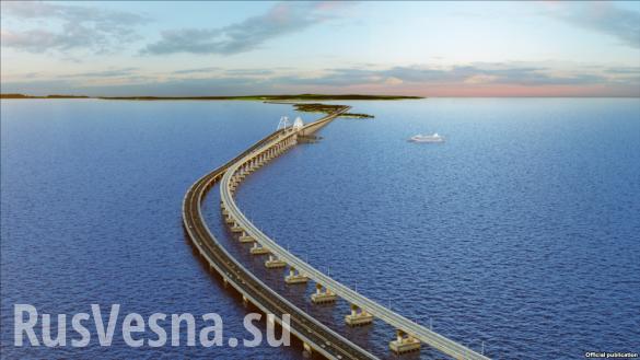 Керченский мост: Россия обрекает Украину на изоляцию, паникуют в кабмине | Русская весна