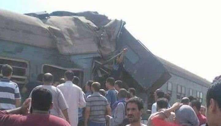 В Египте столкнулись поезда: 28 погибших, 50 раненых