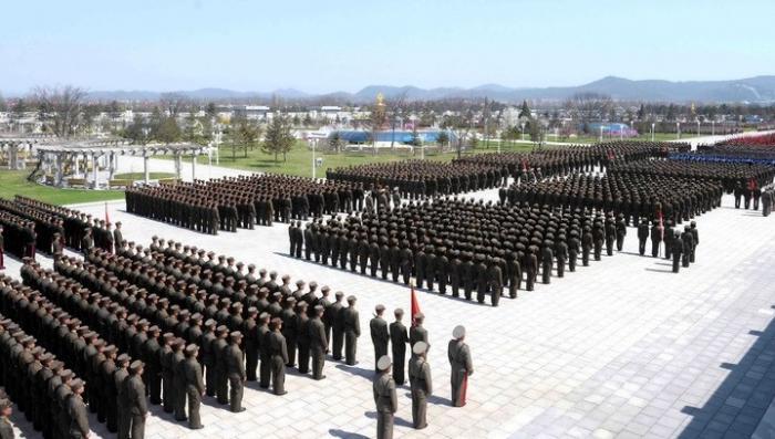 В КНДР 3,5 миллиона человек попросились в армию, чтобы дать отпор пиндосам