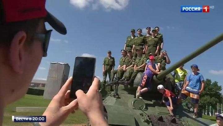 Россия стала сильнейшей в танковом биатлоне на Международных армейских играх