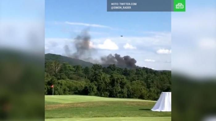США, Шарлотсвилль: патриоты сбили полицейский вертолёт. Верните памятники конфедератам!