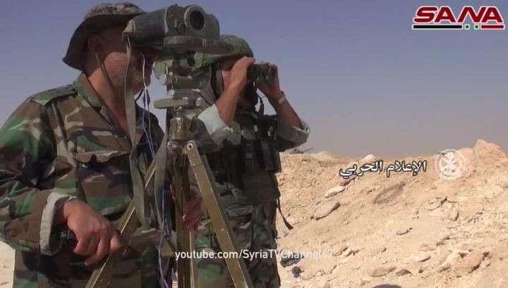 Сирия: освобождён город Эс-Сухне, путь на Дейр-эз-Зор открыт