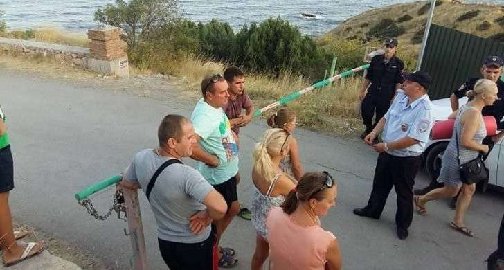 В Крыму мыс Сарыч закрыли для простых смертных