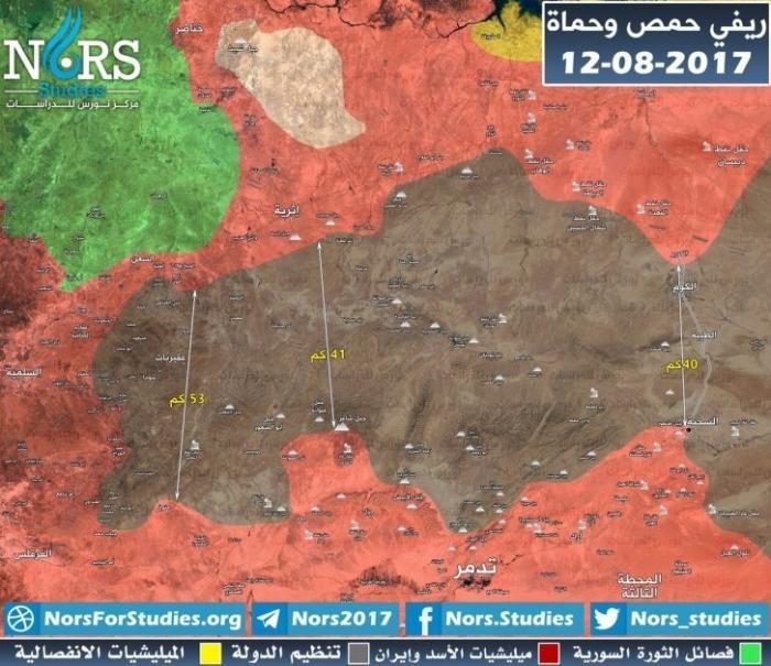 Сирия: правительственная армия увеличила свою территорию в два раза. Анализ
