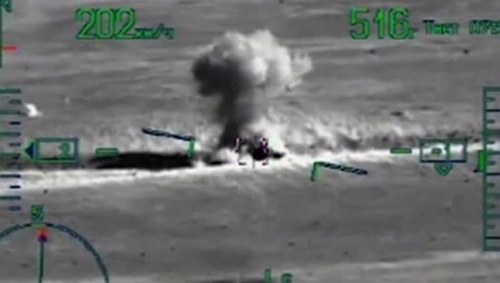 Минобороны опубликовало видео высадки сирийского десанта при поддержке «Аллигаторов»