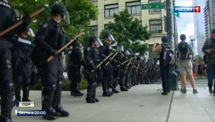 В США расистский майдан уже охватил 50 городов
