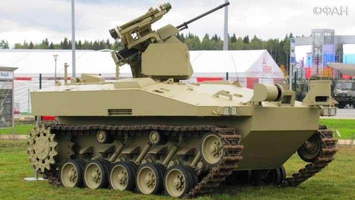 Боевой робот «Соратник» концерна «Калашников» изменит современную войну