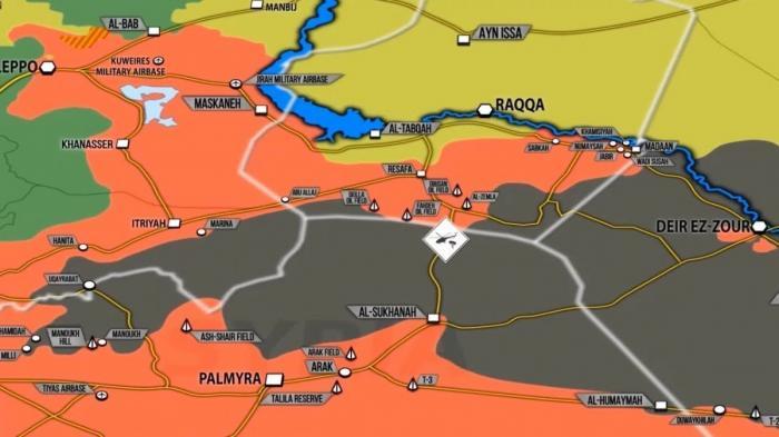 Сирия и Ирак: занятая Башаром Асадом территория увеличилась на 250%