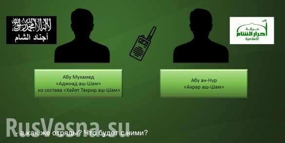 Сирия, радиоперехват: террористы не получают зарплаты по полгода, число дезертиров растёт | Русская весна