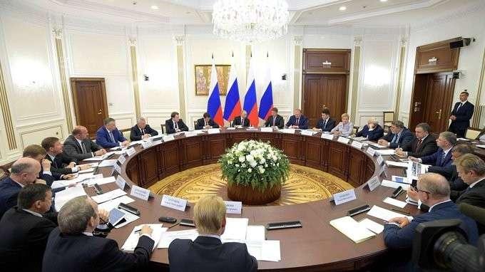 Выступление насовещании поразвитию транспортной инфраструктуры Северо-Запада России