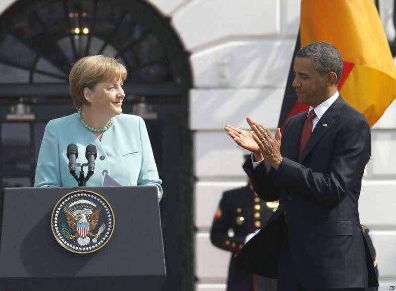 Обама и Меркель высказались за полное закрытие российско-украинской границы