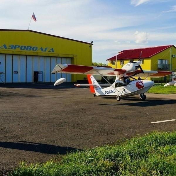 ВСамаре выпустили первый серийный самолёт-амфибию «Борей»
