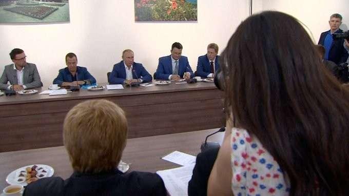 Встреча сучёными иобщественными деятелями Севастополя иКрыма