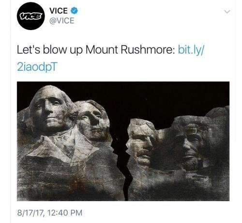 Vice News предлагает разоблачить культ личности Дж.Вашингтона и других