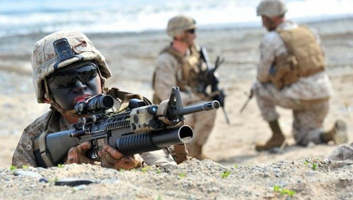 Юмор: учения Морской пехоты США в русской деревне. Секретный фельетон