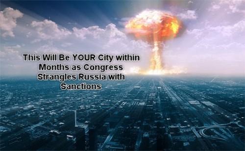Америка, готовься к уничтожению! Введя санкции, Конгресс начал третью мировую войну