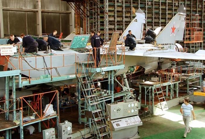 Истребитель МиГ-31: модернизация наНижегородском авиационном заводе «Сокол»