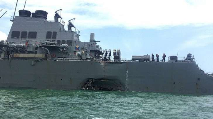 Таран эсминца Джон Маккейн: морскую мощь США принизили. Кто заказчик?