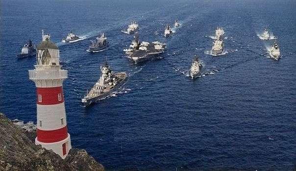 Почему эсминцы «великого пиндостана» идут на таран