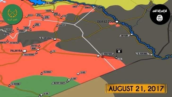 Сирия: спецназ и ВКС России организовали котёл для наёмников США